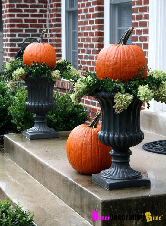 Diy Outdoor Fall Decor  eabdesigns typepad better decorating bible outdoor fall