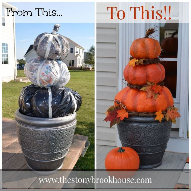 Diy Outdoor Fall Decor  Over 50 of the BEST DIY Fall Craft Ideas Kitchen Fun