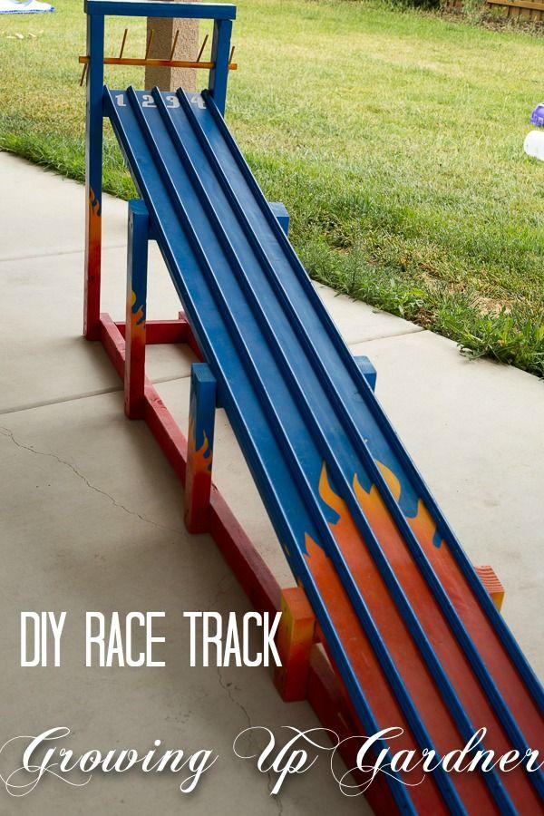 DIY Race Track  Growing Up Gardner DIY Race Track Tutorial
