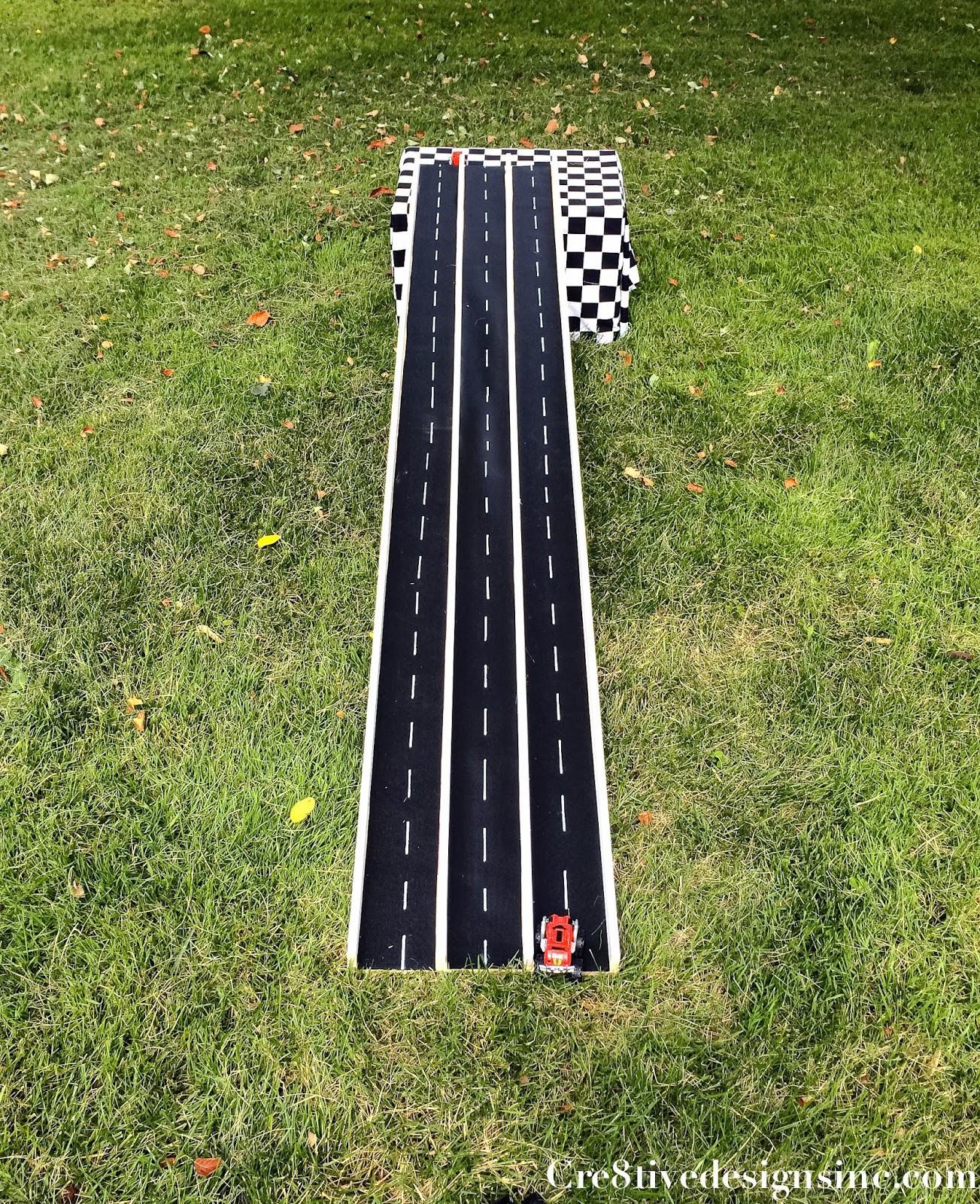 DIY Race Track  Backyard Projects for Kids DIY Race Car Track DO IT