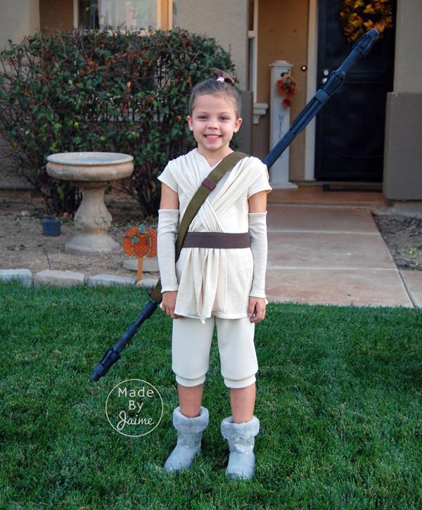 DIY Rey Costume  DIY Rey & Jedi Costumes