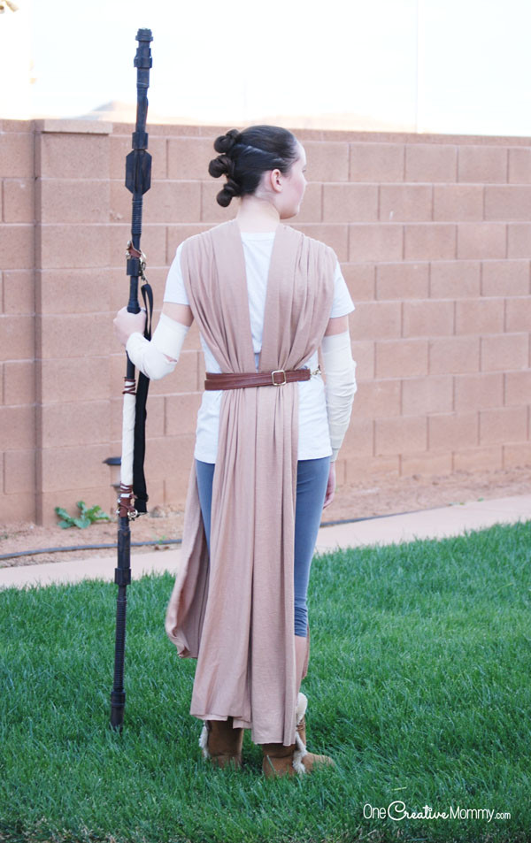 DIY Rey Costume  Get ready for The Last Jedi with this easy Rey Costume