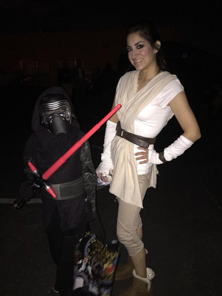 DIY Rey Costume  Diy Star Wars Rey costume Halloween Costumes