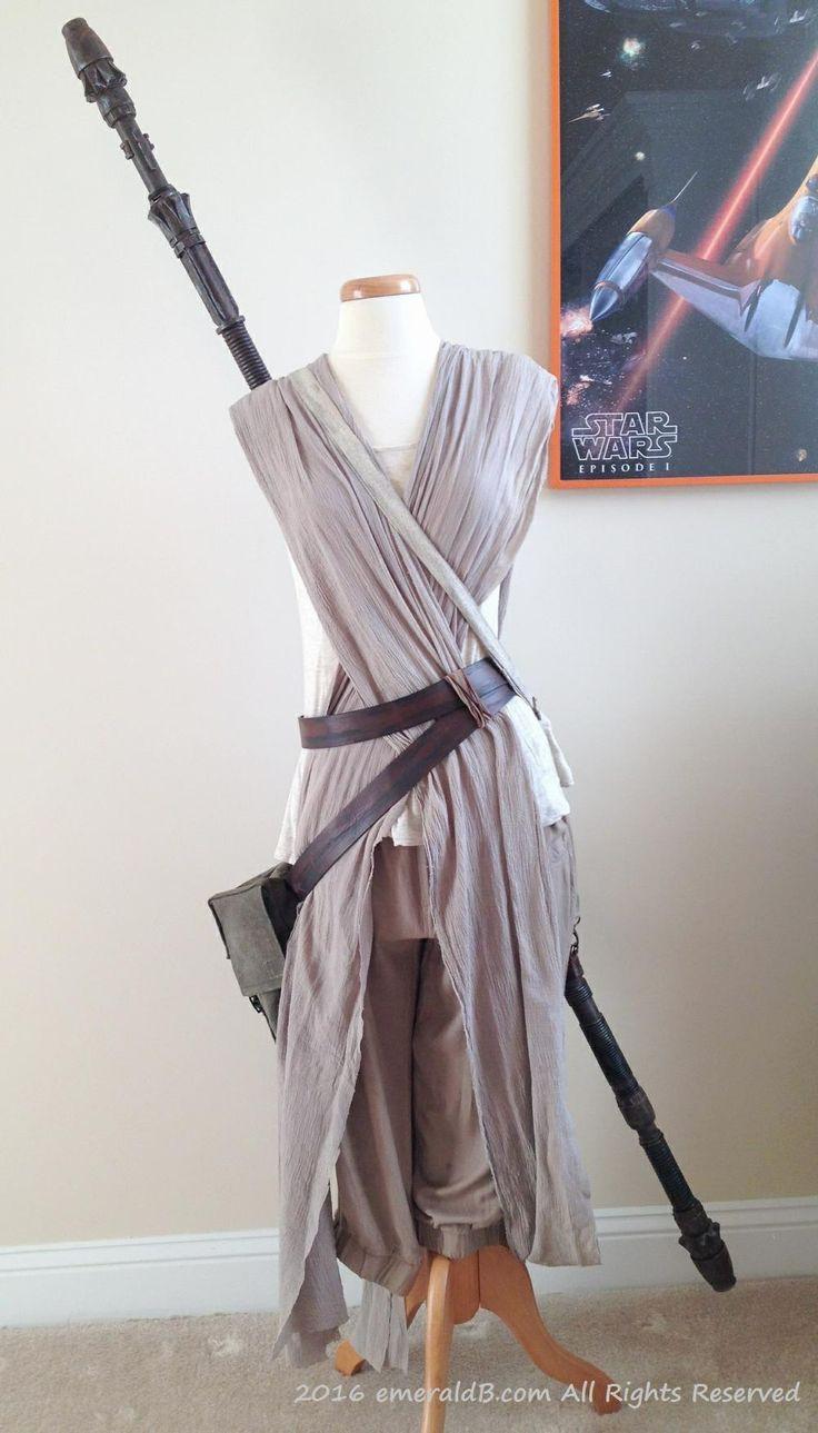 DIY Rey Costume  Star Wars Rey Costume Star Wars 2015 Cosplay