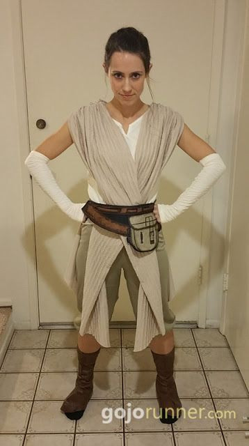 """DIY Rey Costume  Rey from """"The Force Awakens"""" running costume for the"""