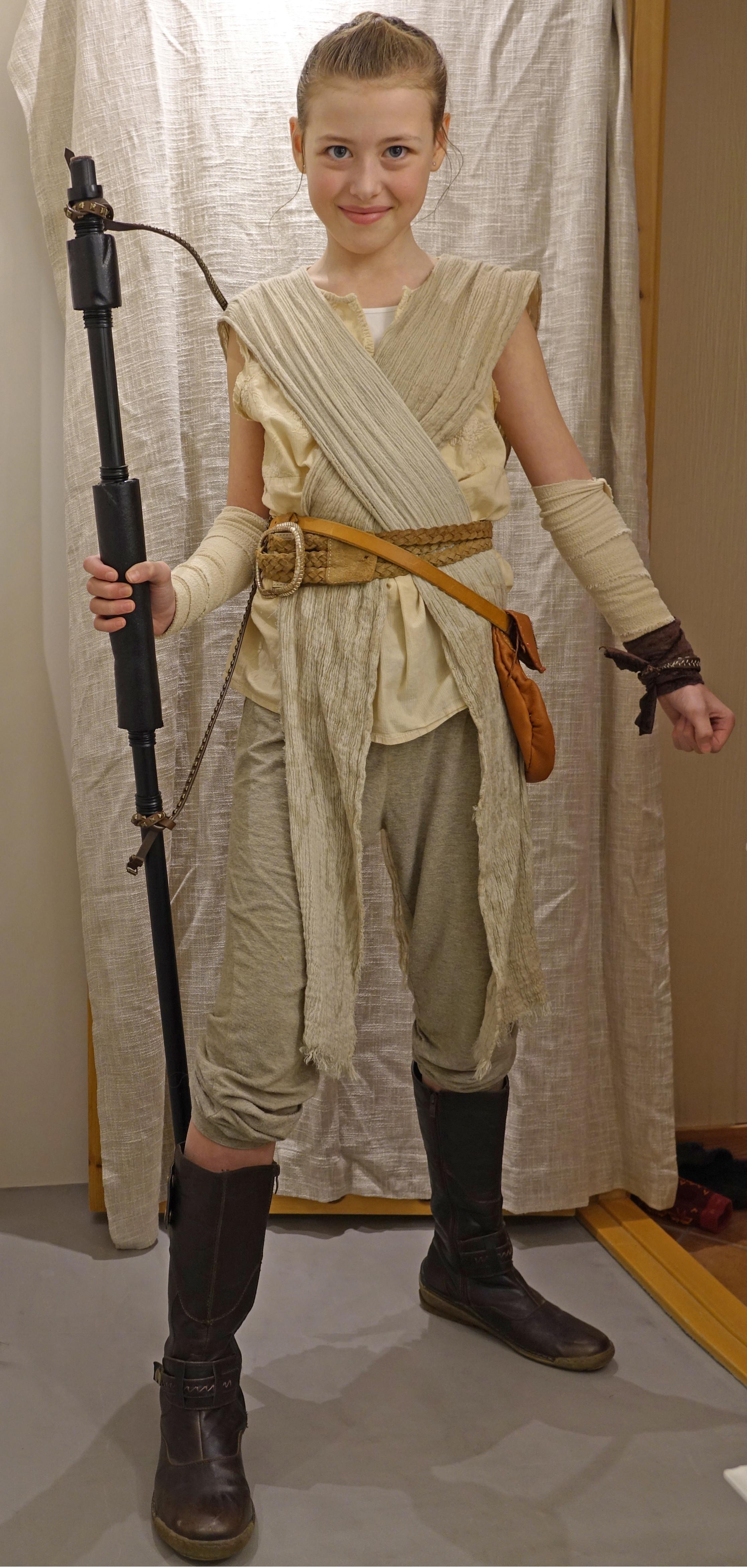 DIY Rey Costume  Costume Party