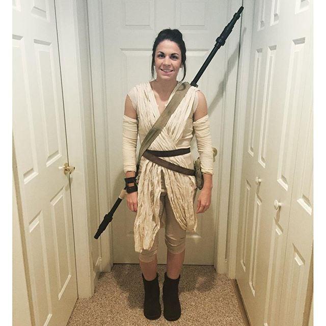 DIY Rey Costume  Rey From Star Wars