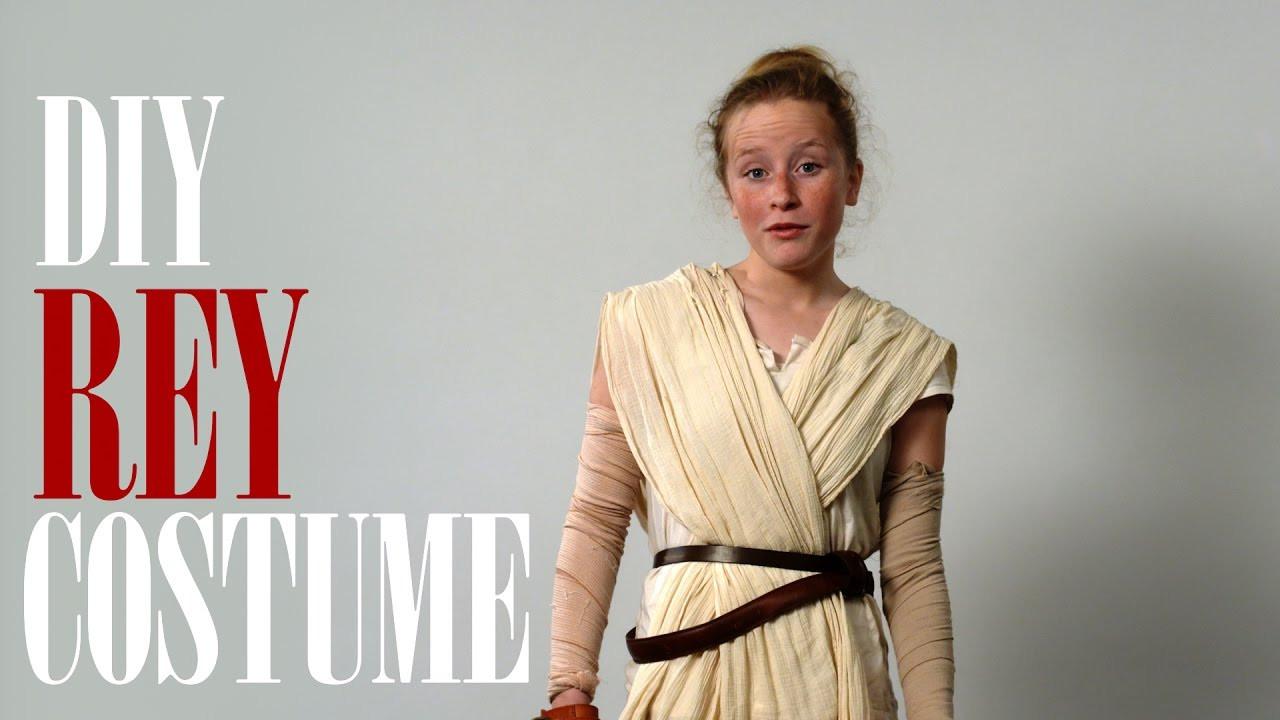 DIY Rey Costume  Anna s DIY Rey costume for Star Wars spoof