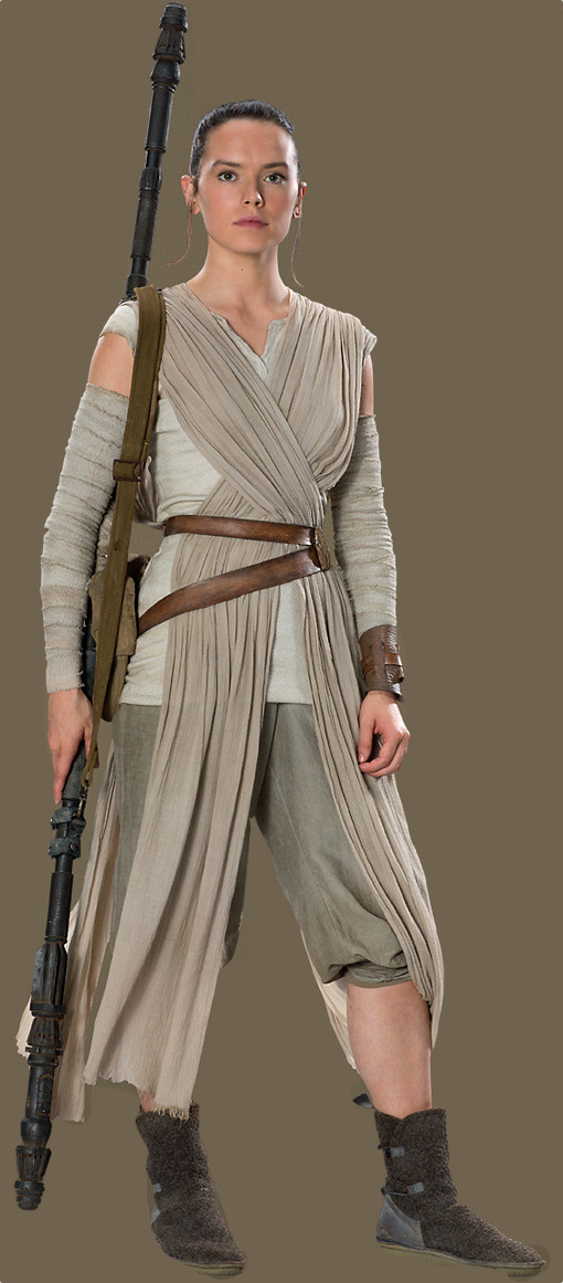 DIY Rey Costume  Star Wars Fit for a Queen Rey's Scavenger Outfit