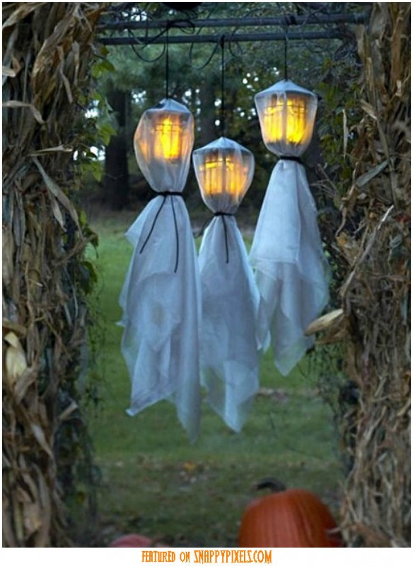 Diy Spooky Outdoor Halloween Decorations  Scary Halloween Decoration Ideas For Outside 34 Yard Pics