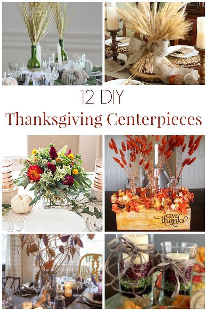 Diy Thanksgiving Table Decorations  Best 25 Thanksgiving centerpieces ideas on Pinterest