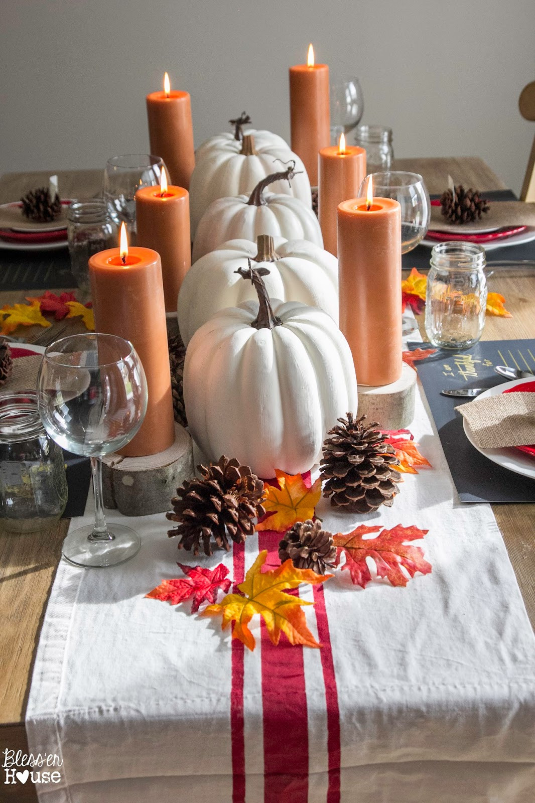 Diy Thanksgiving Table Decorations  DIY Thanksgiving Décor