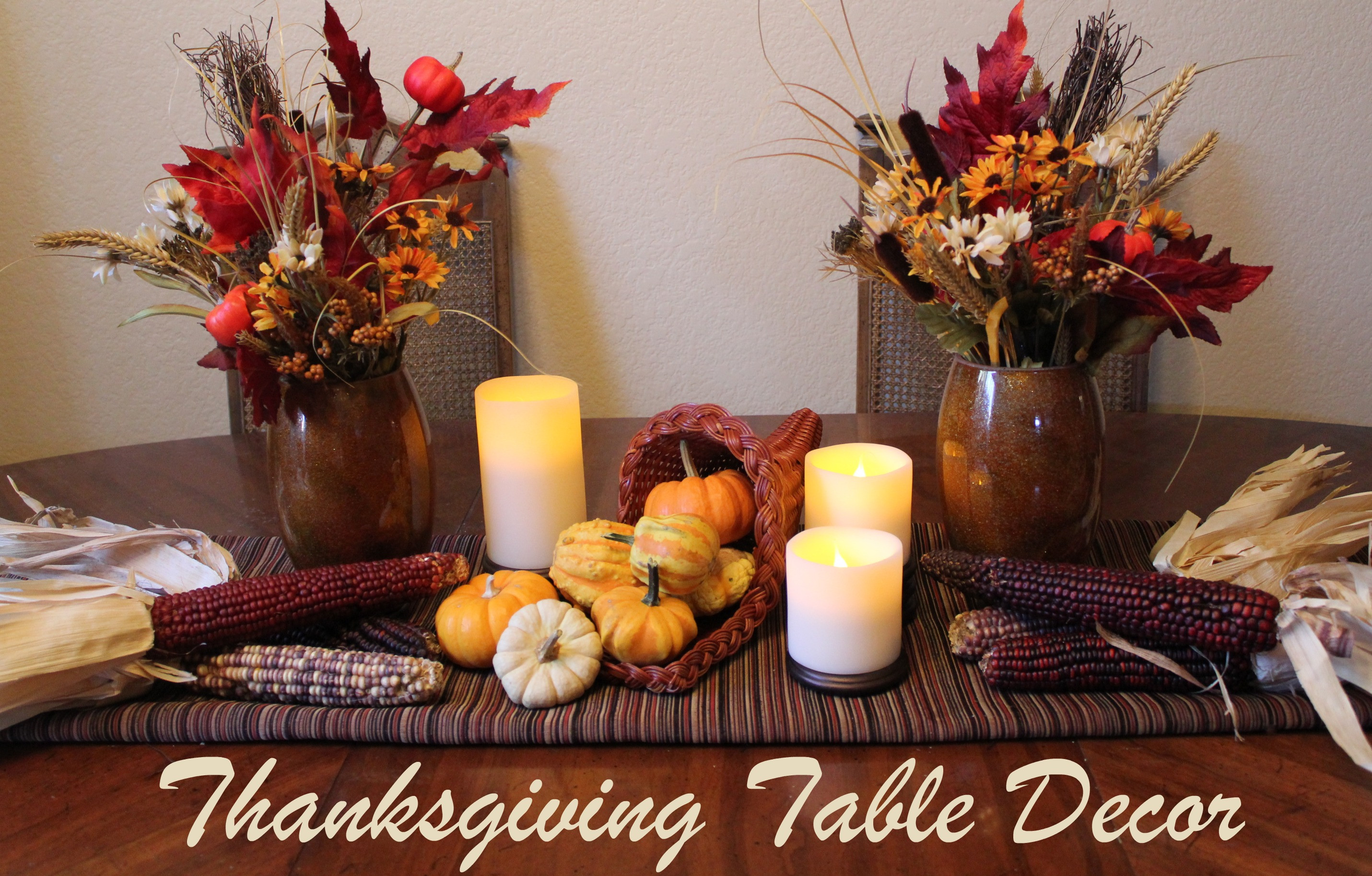 Diy Thanksgiving Table Decorations  Cornucopia of Creativity DIY Thanksgiving Table Decor