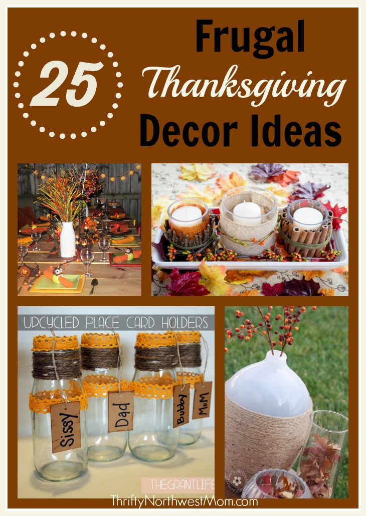 Diy Thanksgiving Table Decorations  Homemade Thanksgiving Table Decorations & More