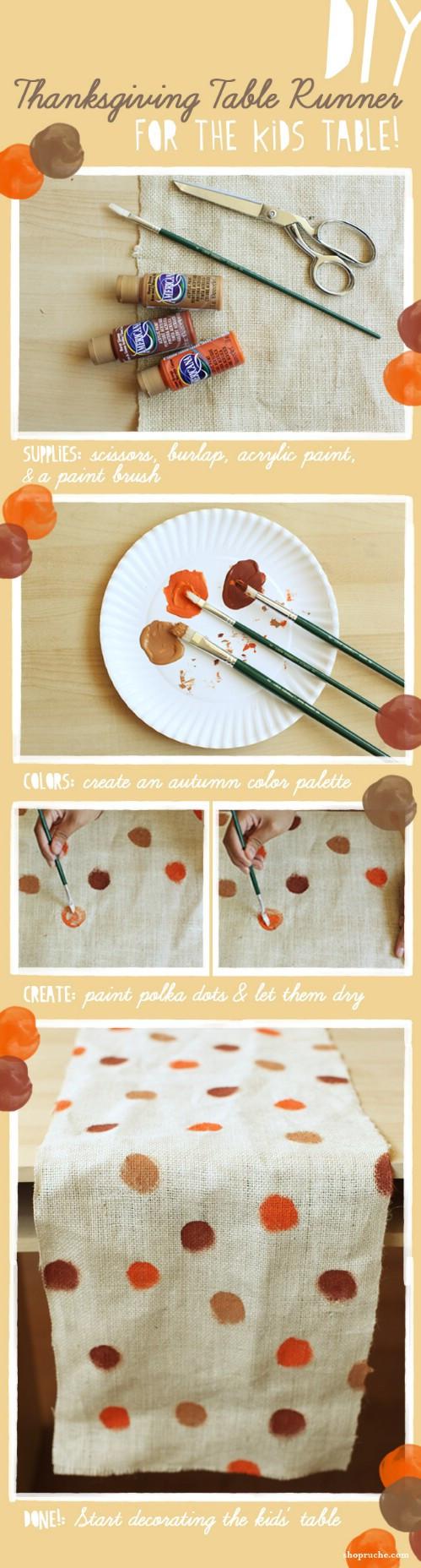 Diy Thanksgiving Table Decorations  15 Wonderful DIY Thanksgiving Decorations For Your Home