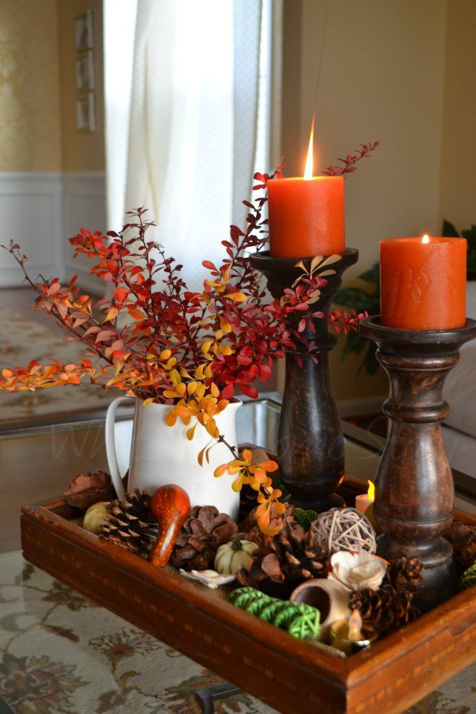 Diy Thanksgiving Table Decorations  25 best images about Thanksgiving Decorations on Pinterest
