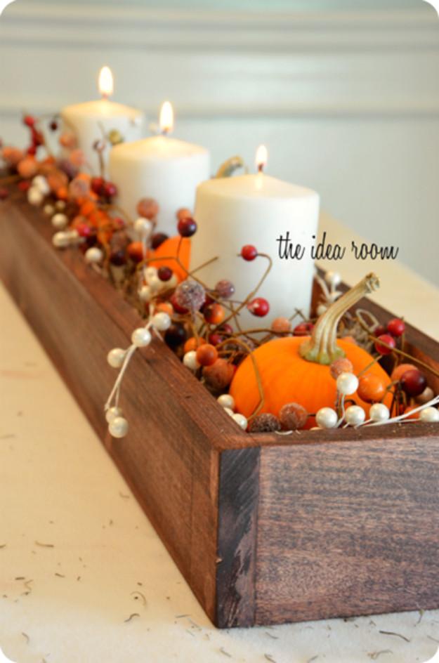 Diy Thanksgiving Table Decorations  15 Amazing DIY Thanksgiving Table Decor Ideas To Get You