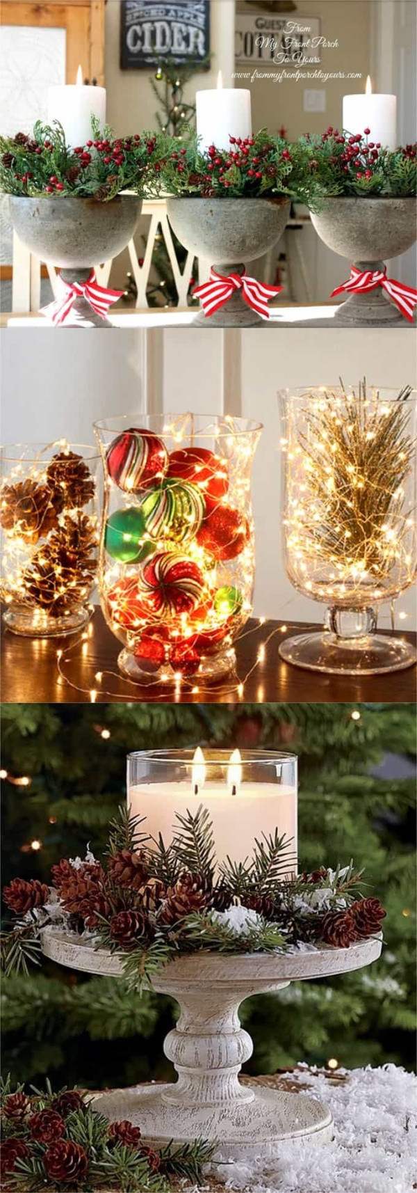 Diy Thanksgiving Table Decorations  27 gorgeous & easy DIY Thanksgiving and Christmas table