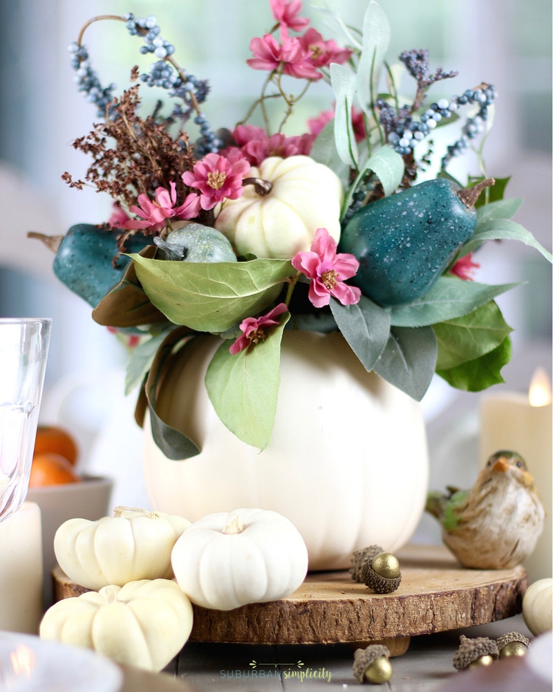 Diy Thanksgiving Table Decorations  Easy Thanksgiving Table Decorations