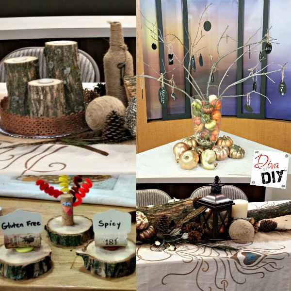 Diy Thanksgiving Table Decorations  Make these Rustic DIY Thanksgiving Table Decorations