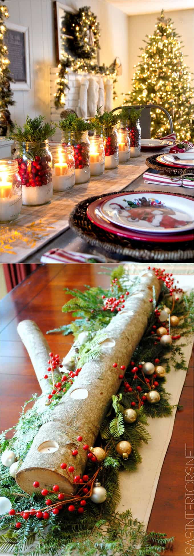 Diy Thanksgiving Table Decorations  27 Gorgeous DIY Thanksgiving & Christmas Table Decorations
