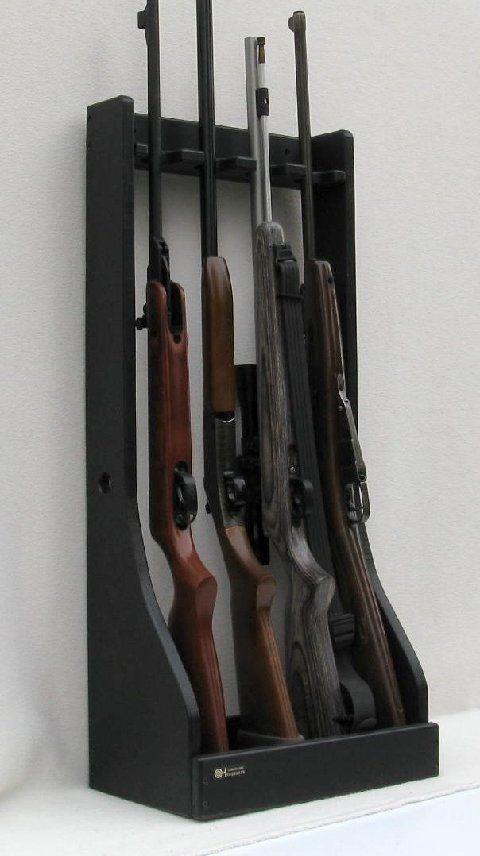 DIY Vertical Gun Rack  18 best images about Gun rack on Pinterest