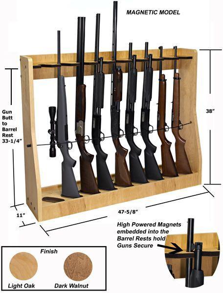 DIY Vertical Gun Rack  Wall Gun Rack Plans WoodWorking Projects & Plans
