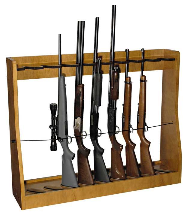 DIY Vertical Gun Rack  Independence from Gun Clutter