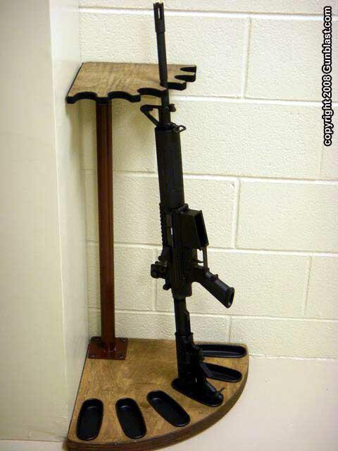 DIY Vertical Gun Rack  Need gun rack plans