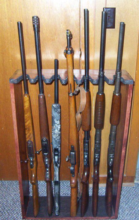 DIY Vertical Gun Rack  Vertical Gun Rack Vertical gun rack plans