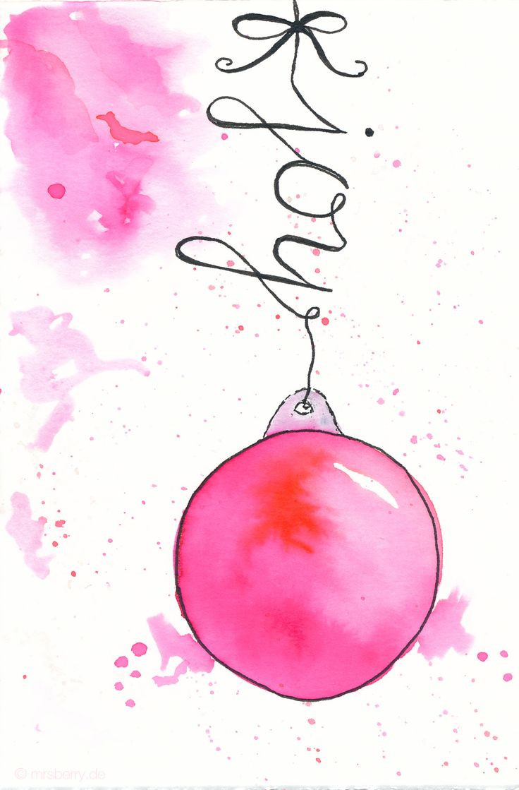 DIY Watercolor Christmas Cards  25 best ideas about Watercolor christmas on Pinterest