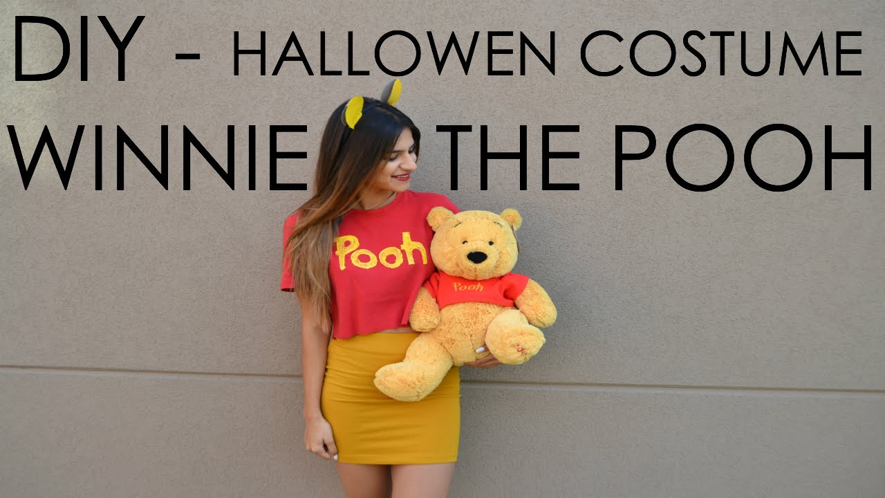 DIY Winnie The Pooh Costume  DIY Halloween Costume Winnie the Pooh