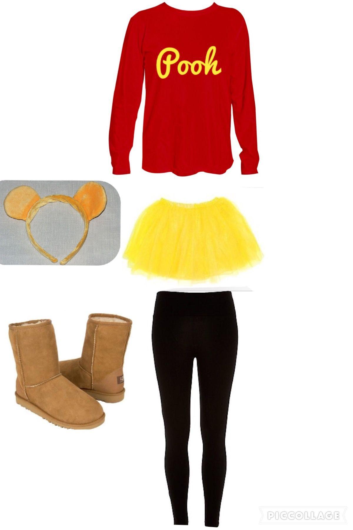 DIY Winnie The Pooh Costume  Winnie the Pooh costume … Halloween