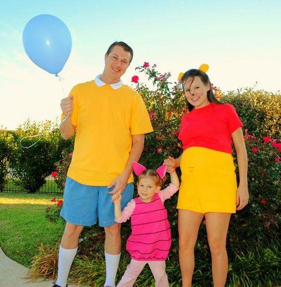 DIY Winnie The Pooh Costume  Winnie the Pooh Easy DIY Family Costume
