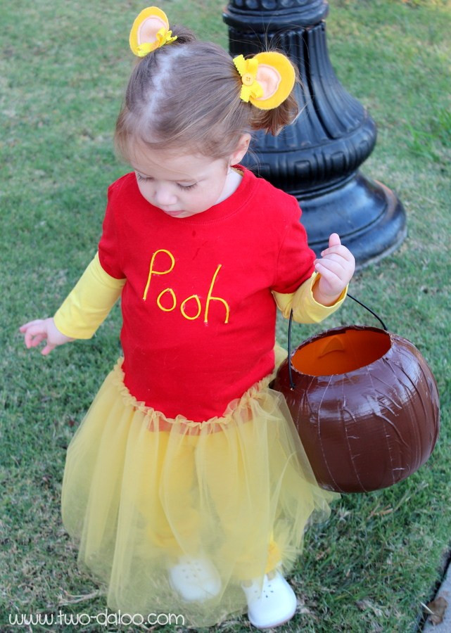 DIY Winnie The Pooh Costume  World Book Day Costume Ideas In The Playroom