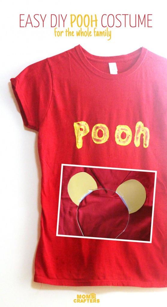 DIY Winnie The Pooh Costume  DIY Kids Halloween Costumes