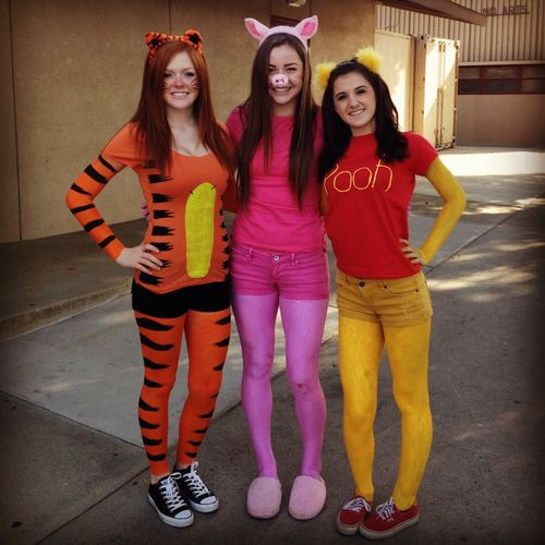 DIY Winnie The Pooh Costume  Winnie the pooh Girl costumes and Costumes on Pinterest