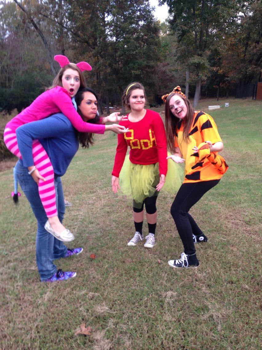 DIY Winnie The Pooh Costume  Winnie the Pooh Group Costume Halloween