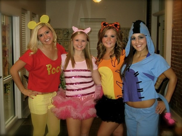 DIY Winnie The Pooh Costume  32 Amazing DIY Costumes That Prove Halloween Is Actually