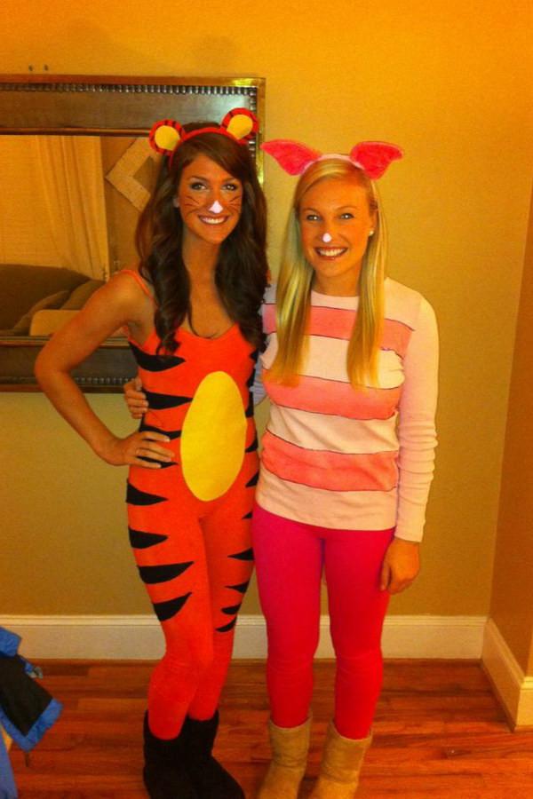 DIY Winnie The Pooh Costume  35 Girlfriend Group Halloween Costume Ideas Noted List