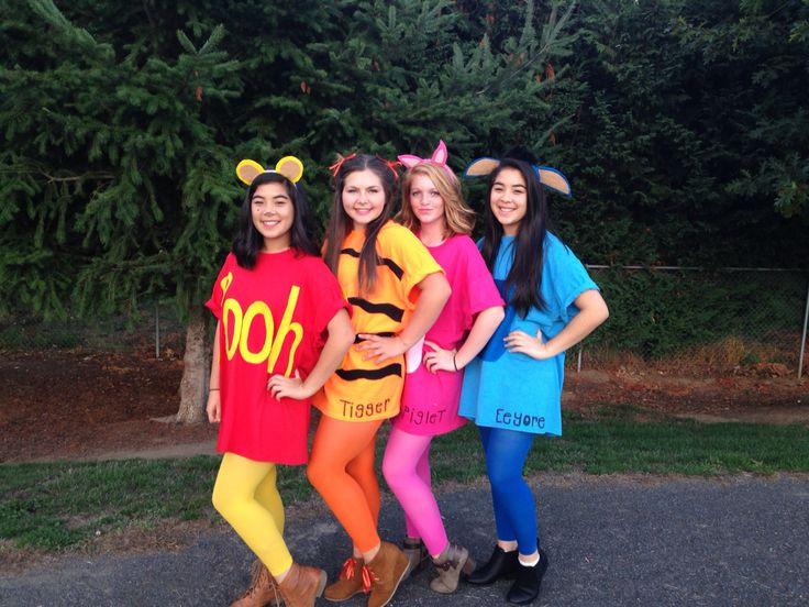 DIY Winnie The Pooh Costume  DIY Winnie the Pooh and friends costume Under $15 each