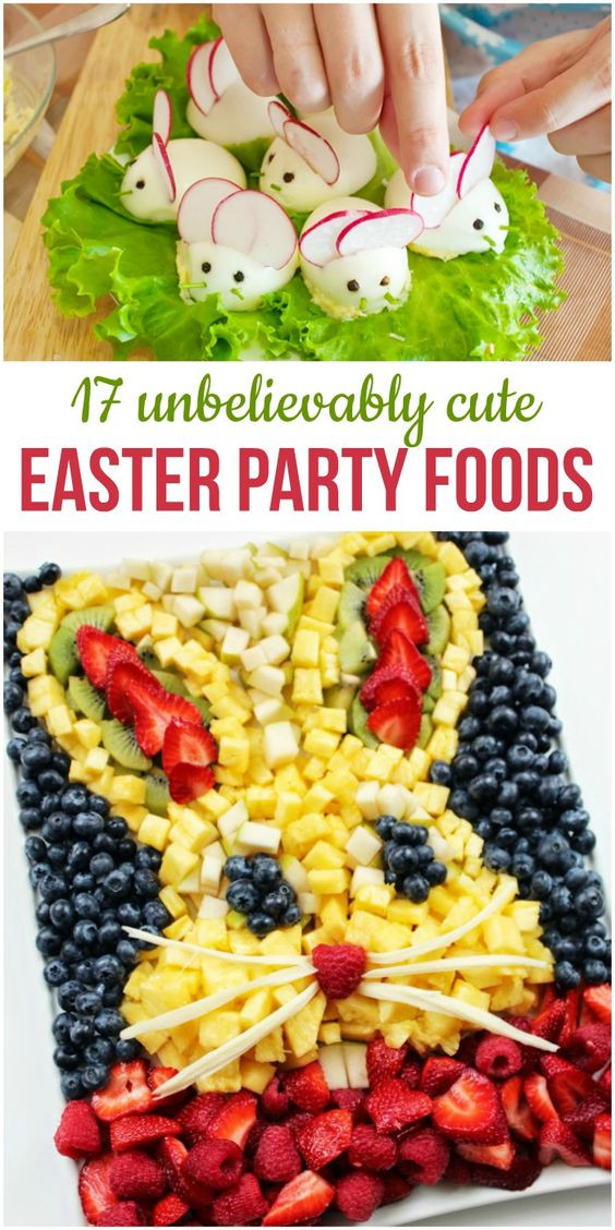 Easter Party Food Ideas Pinterest  17 Unbelievably Cute Easter Party Foods for Your Brunch or