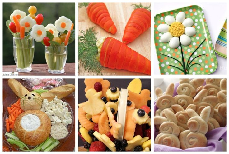 Easter Party Food Ideas Pinterest  Easter Spring Party food I like the bread bowl bunny dip