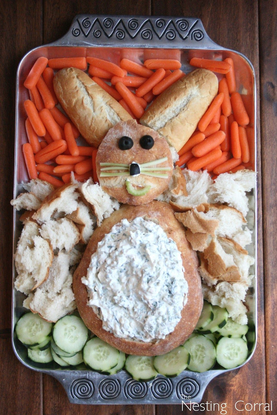 Easter Party Food Ideas Pinterest  Easy Easter Appetizer Liz Mester Savoie you so need to