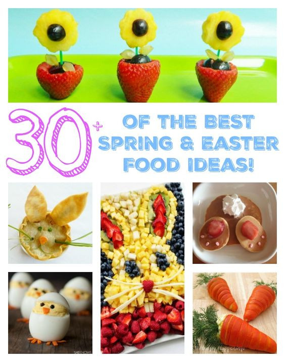 Easter Party Food Ideas Pinterest  Easter Food Ideas The BEST Easter party ideas brunch