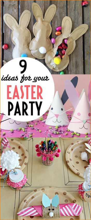 Easter Party Ideas Children  Best 25 Easter party ideas on Pinterest