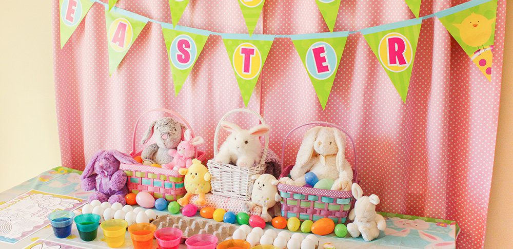 Easter Party Ideas Children  Easter Crafts & Games