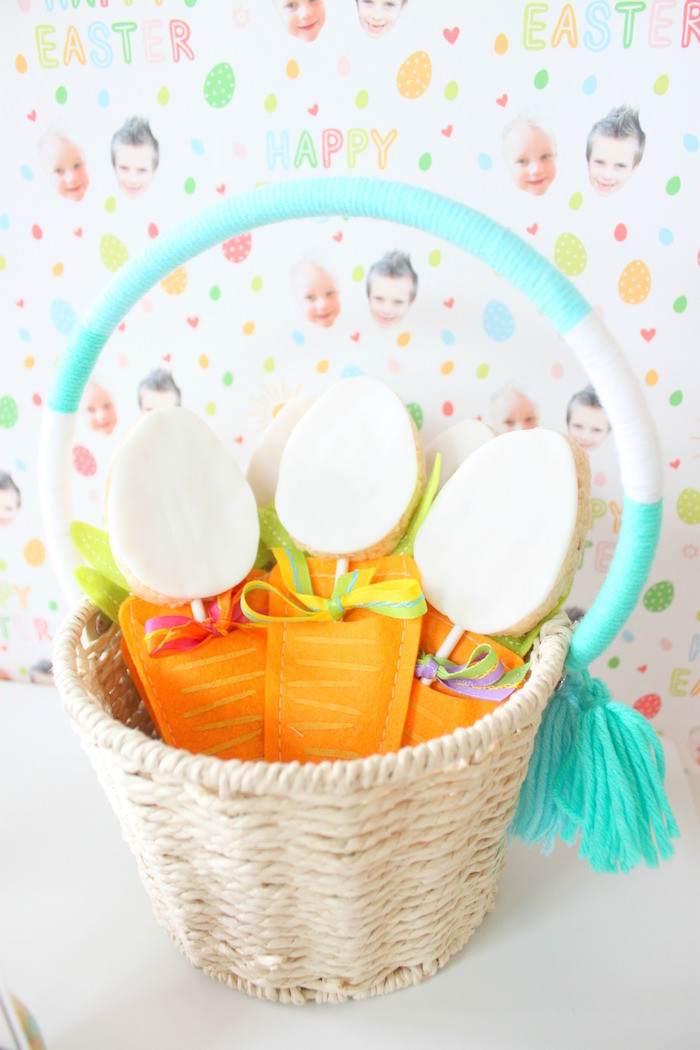 Easter Party Ideas Children  Kara s Party Ideas Hoppy Easter Party for Kids