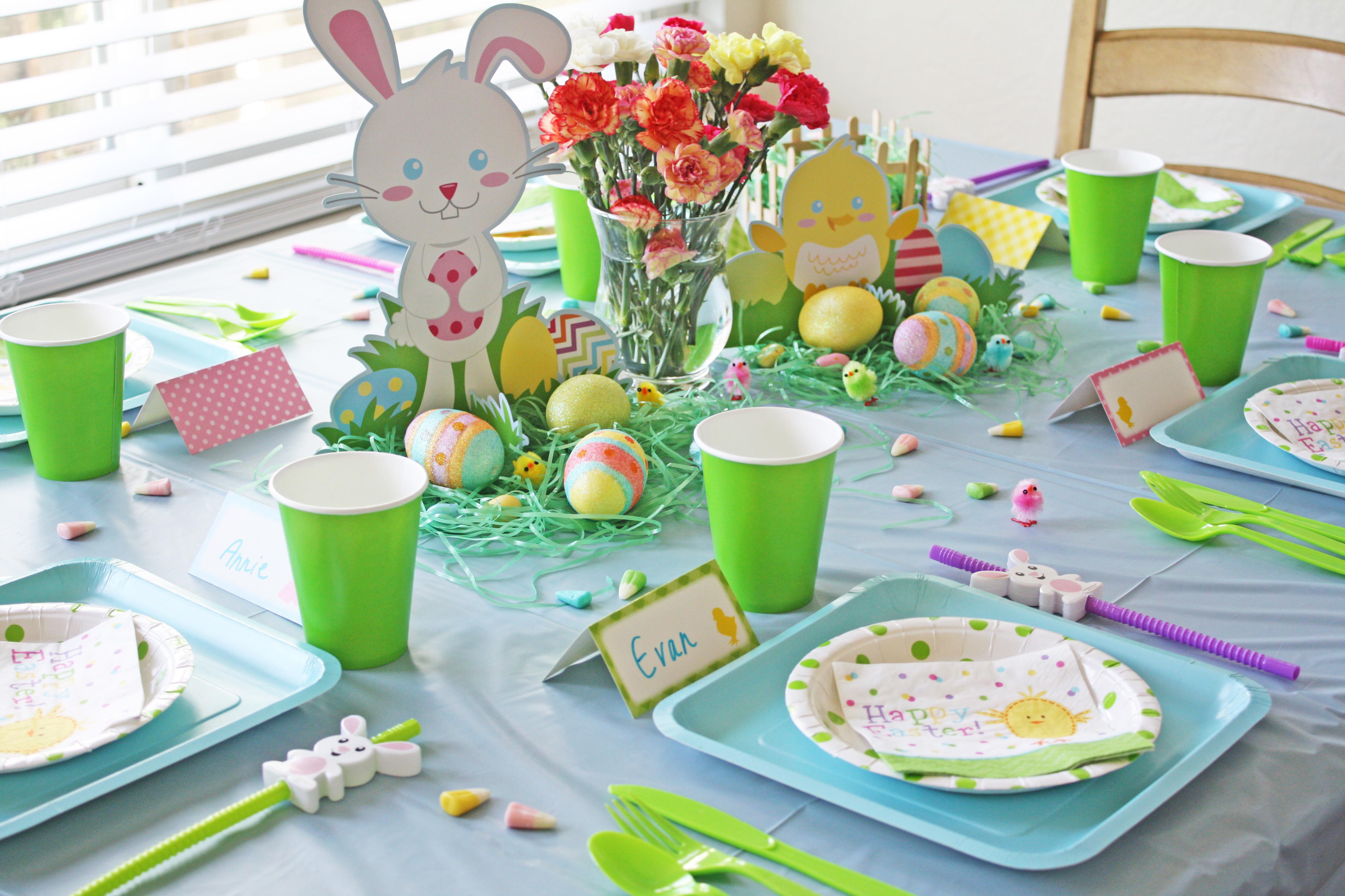 Easter Party Ideas Children  Create a Kids Easter Brunch