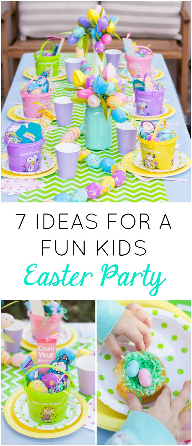 Easter Party Ideas Children  7 Fun Ideas for a Kids Easter Party